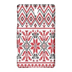 Consecutive Knitting Patterns Vector Background Samsung Galaxy Tab S (8 4 ) Hardshell Case