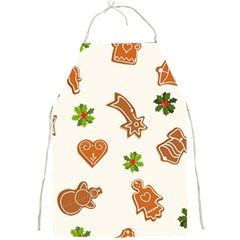 Cute Christmas Seamless Pattern  Full Print Aprons