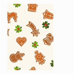 Cute Christmas Seamless Pattern  Small Garden Flag (two Sides)