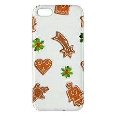 Cute Christmas Seamless Pattern  Iphone 5s/ Se Premium Hardshell Case