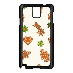 Cute Christmas Seamless Pattern  Samsung Galaxy Note 3 N9005 Case (black)