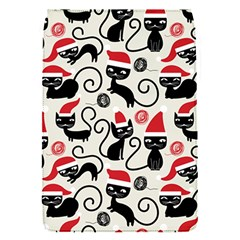 Cute Cat Christmas Seamless Pattern Vector  Flap Covers (s)