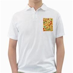Cute Christmas Seamless Pattern Vector Golf Shirts
