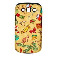 Cute Christmas Seamless Pattern Vector Samsung Galaxy S Iii Classic Hardshell Case (pc+silicone)