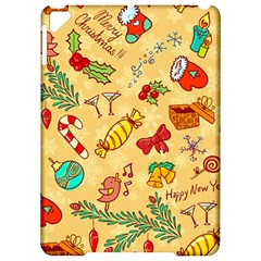 Cute Christmas Seamless Pattern Vector Apple iPad Pro 9.7   Hardshell Case