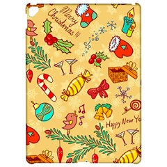 Cute Christmas Seamless Pattern Vector Apple iPad Pro 12.9   Hardshell Case