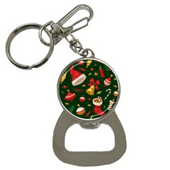 Cute Christmas Seamless Pattern Button Necklaces