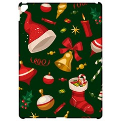 Cute Christmas Seamless Pattern Apple iPad Pro 12.9   Hardshell Case