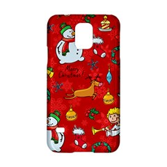 Cute Christmas Seamless Pattern Vector  Samsung Galaxy S5 Hardshell Case