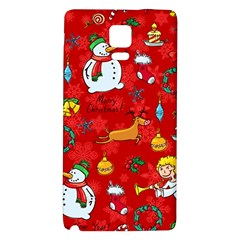 Cute Christmas Seamless Pattern Vector  Galaxy Note 4 Back Case