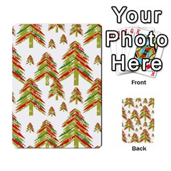 Cute Christmas Seamless Pattern Vector    Multi Purpose Cards (rectangle)