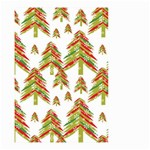 Cute Christmas Seamless Pattern Vector    Small Garden Flag (Two Sides) Back