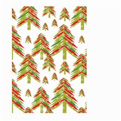 Cute Christmas Seamless Pattern Vector    Large Garden Flag (two Sides)