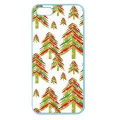 Cute Christmas Seamless Pattern Vector    Apple Seamless Iphone 5 Case (color)