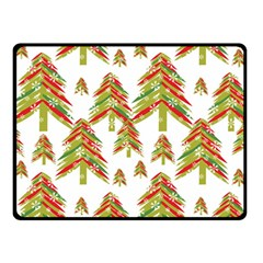 Cute Christmas Seamless Pattern Vector    Double Sided Fleece Blanket (small)