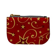 Elements Of Christmas Decorative Pattern Vector Mini Coin Purses