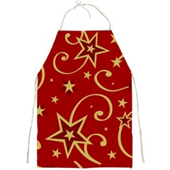 Elements Of Christmas Decorative Pattern Vector Full Print Aprons