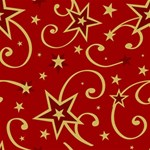 Elements Of Christmas Decorative Pattern Vector Twin Hearts 3D Greeting Card (8x4) Inside