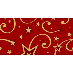 Elements Of Christmas Decorative Pattern Vector You Are Invited 3d Greeting Card (8x4)