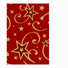 Elements Of Christmas Decorative Pattern Vector Small Garden Flag (two Sides)