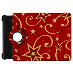 Elements Of Christmas Decorative Pattern Vector Kindle Fire Hd 7