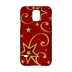 Elements Of Christmas Decorative Pattern Vector Samsung Galaxy S5 Hardshell Case