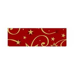 Elements Of Christmas Decorative Pattern Vector Satin Scarf (oblong)