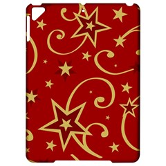 Elements Of Christmas Decorative Pattern Vector Apple Ipad Pro 9 7   Hardshell Case