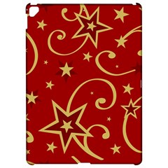 Elements Of Christmas Decorative Pattern Vector Apple iPad Pro 12.9   Hardshell Case