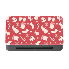 Pattern Christmas Elements Seamless Vector Memory Card Reader With Cf