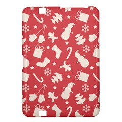 Pattern Christmas Elements Seamless Vector Kindle Fire Hd 8 9