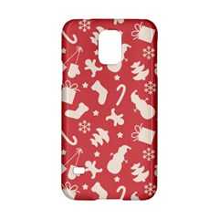 Pattern Christmas Elements Seamless Vector Samsung Galaxy S5 Hardshell Case