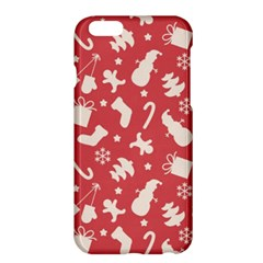 Pattern Christmas Elements Seamless Vector Apple Iphone 6 Plus/6s Plus Hardshell Case
