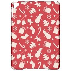 Pattern Christmas Elements Seamless Vector Apple iPad Pro 9.7   Hardshell Case