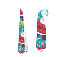 Cute Christmas Seamless Pattern Vector   Neckties (Two Side)