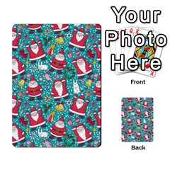 Cute Christmas Seamless Pattern Vector   Multi-purpose Cards (Rectangle)