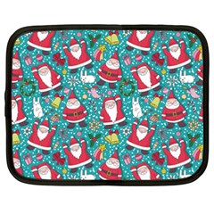 Cute Christmas Seamless Pattern Vector   Netbook Case (xxl)