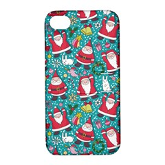 Cute Christmas Seamless Pattern Vector   Apple Iphone 4/4s Hardshell Case With Stand