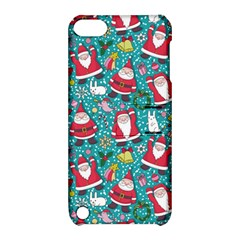 Cute Christmas Seamless Pattern Vector   Apple Ipod Touch 5 Hardshell Case With Stand