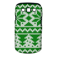 Knitted Fabric Christmas Pattern Vector Samsung Galaxy S Iii Classic Hardshell Case (pc+silicone)