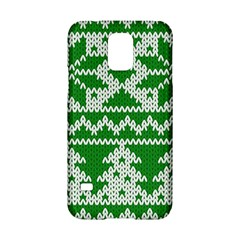Knitted Fabric Christmas Pattern Vector Samsung Galaxy S5 Hardshell Case