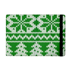Knitted Fabric Christmas Pattern Vector Ipad Mini 2 Flip Cases