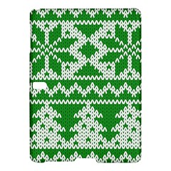 Knitted Fabric Christmas Pattern Vector Samsung Galaxy Tab S (10 5 ) Hardshell Case