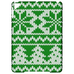 Knitted Fabric Christmas Pattern Vector Apple iPad Pro 9.7   Hardshell Case