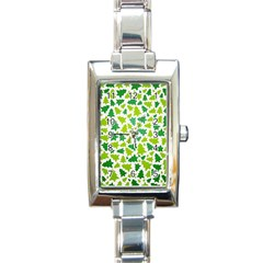 Pattern Christmas Elements Seamless Vector  Rectangle Italian Charm Watch