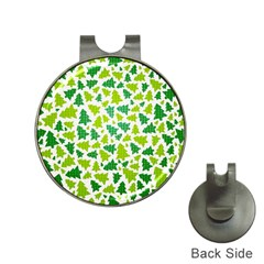 Pattern Christmas Elements Seamless Vector  Hat Clips With Golf Markers