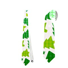 Pattern Christmas Elements Seamless Vector  Neckties (one Side)