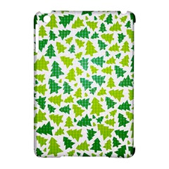 Pattern Christmas Elements Seamless Vector  Apple Ipad Mini Hardshell Case (compatible With Smart Cover)