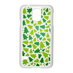 Pattern Christmas Elements Seamless Vector  Samsung Galaxy S5 Case (white)