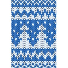 Knitted Fabric Christmas Pattern Vector 5 5  X 8 5  Notebooks